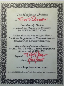 Happiness Decision